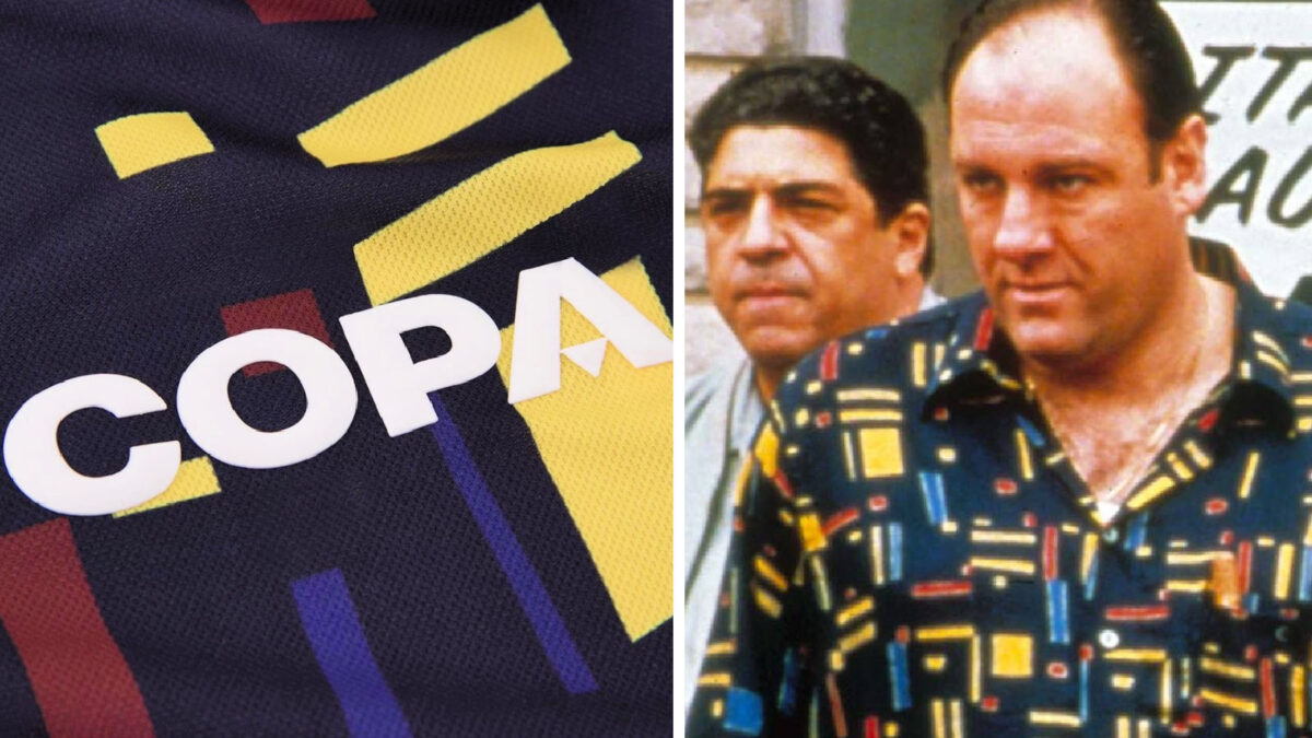 Copa Football pay tribute to The Sopranos