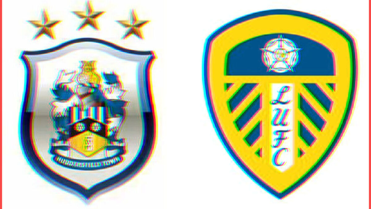 Huddersfield Town and Leeds United logos