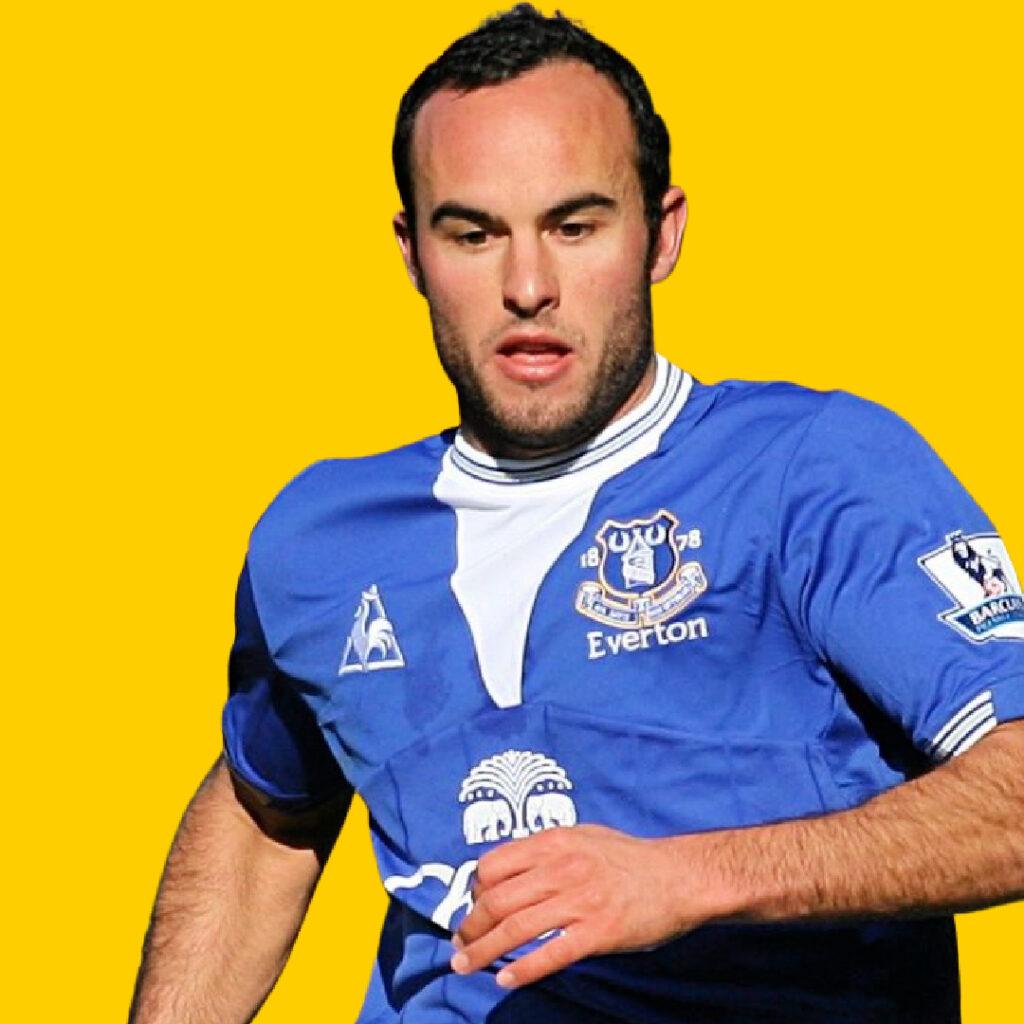 Landon Donovan during his Everton days