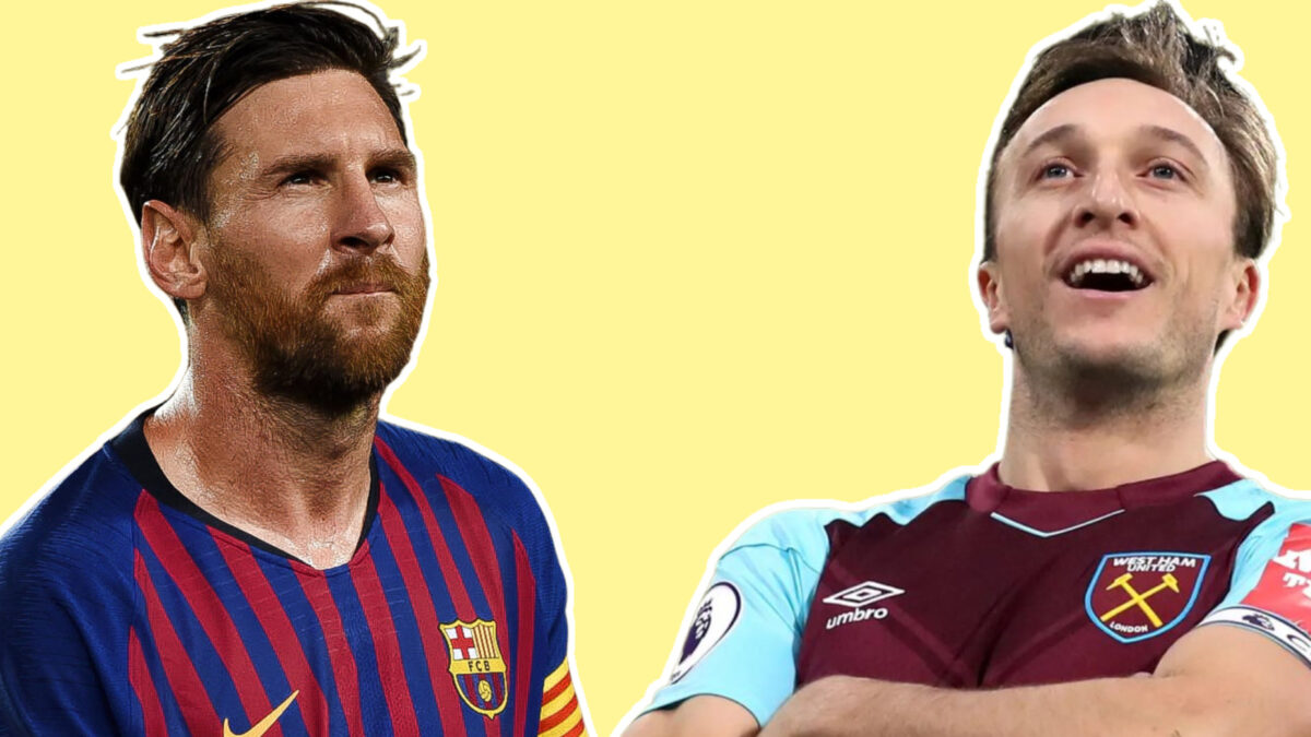 Mark Noble replaces Lionel Messi as currently active longest-serving 'one-club man'