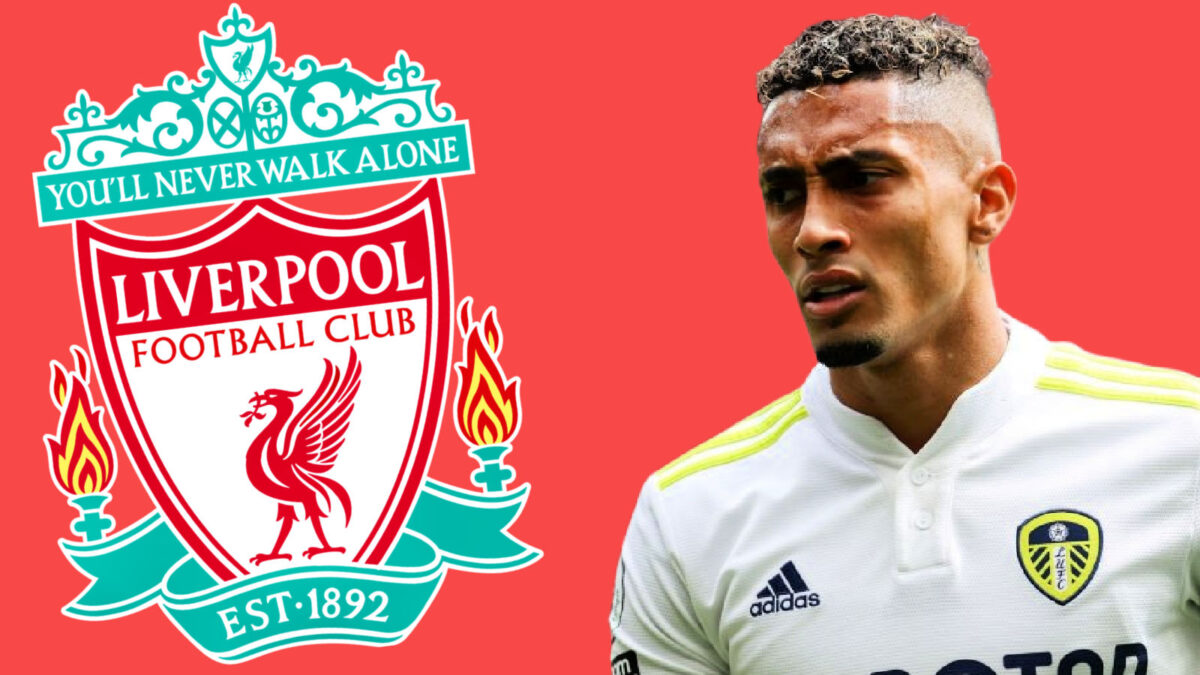 Michael Dawson calls Raphinha a Liverpool player live on Sky Sports