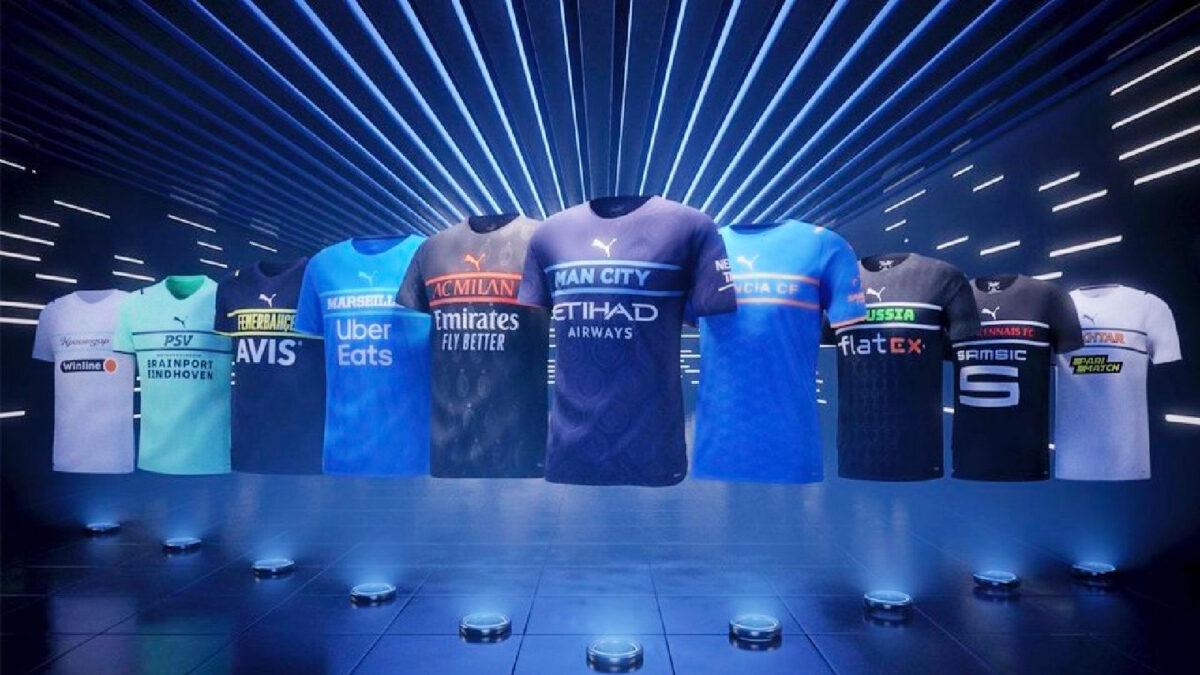 Puma third kits for 21_22 season