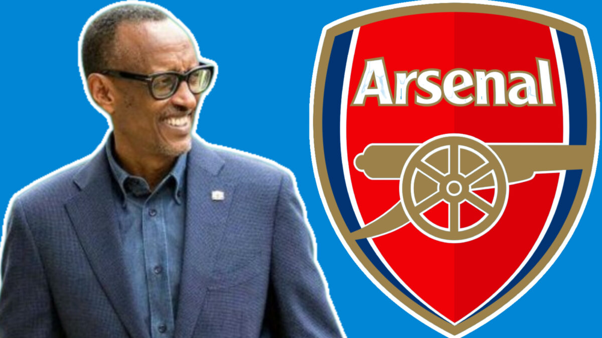 Rwanda President Paul Kagame slammed Arsenal on Twitter following the loss to Brentford