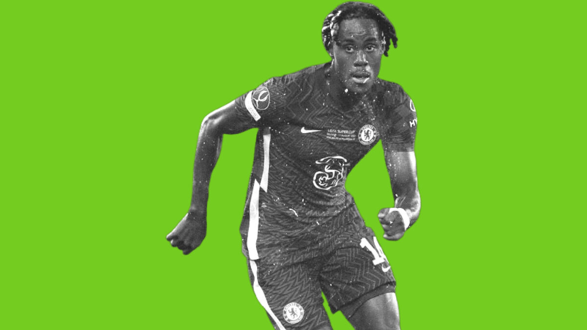 Trevoh Chalobah in action for Chelsea