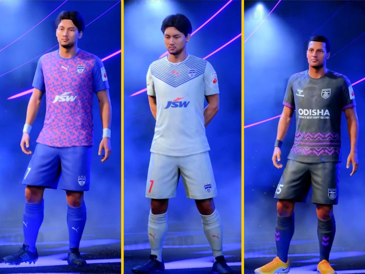 Indian Super League kits in FIFA 22