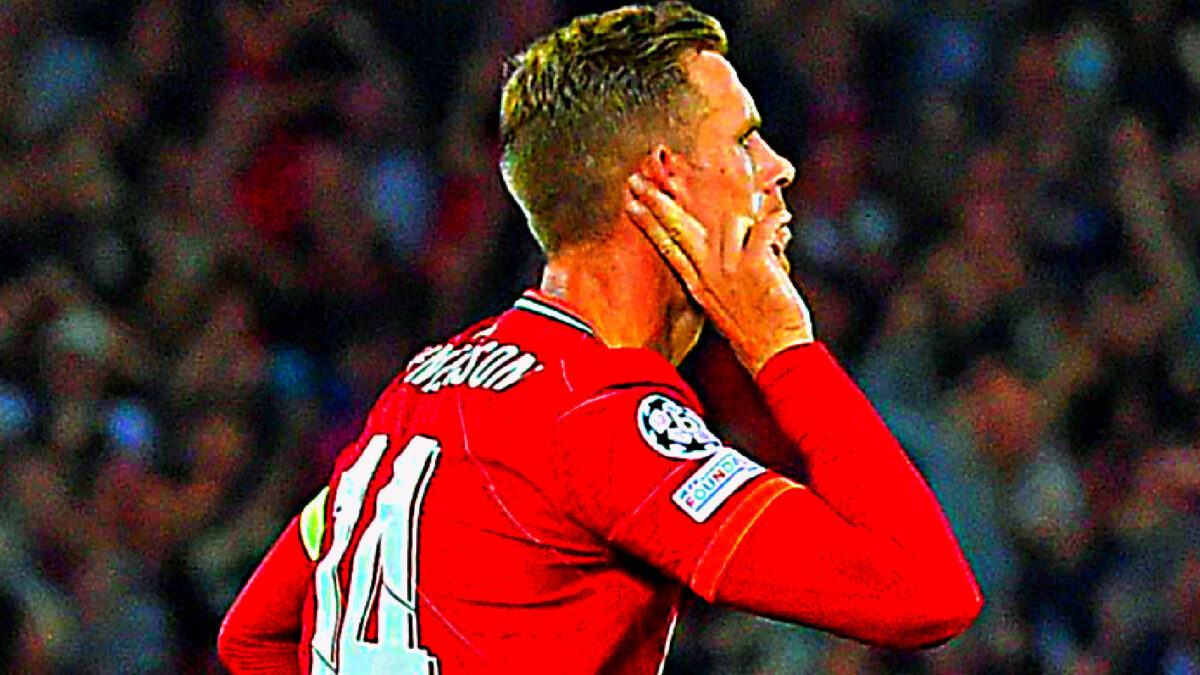 Jordan Henderson scored a worldie against AC Milan and celebrated in style