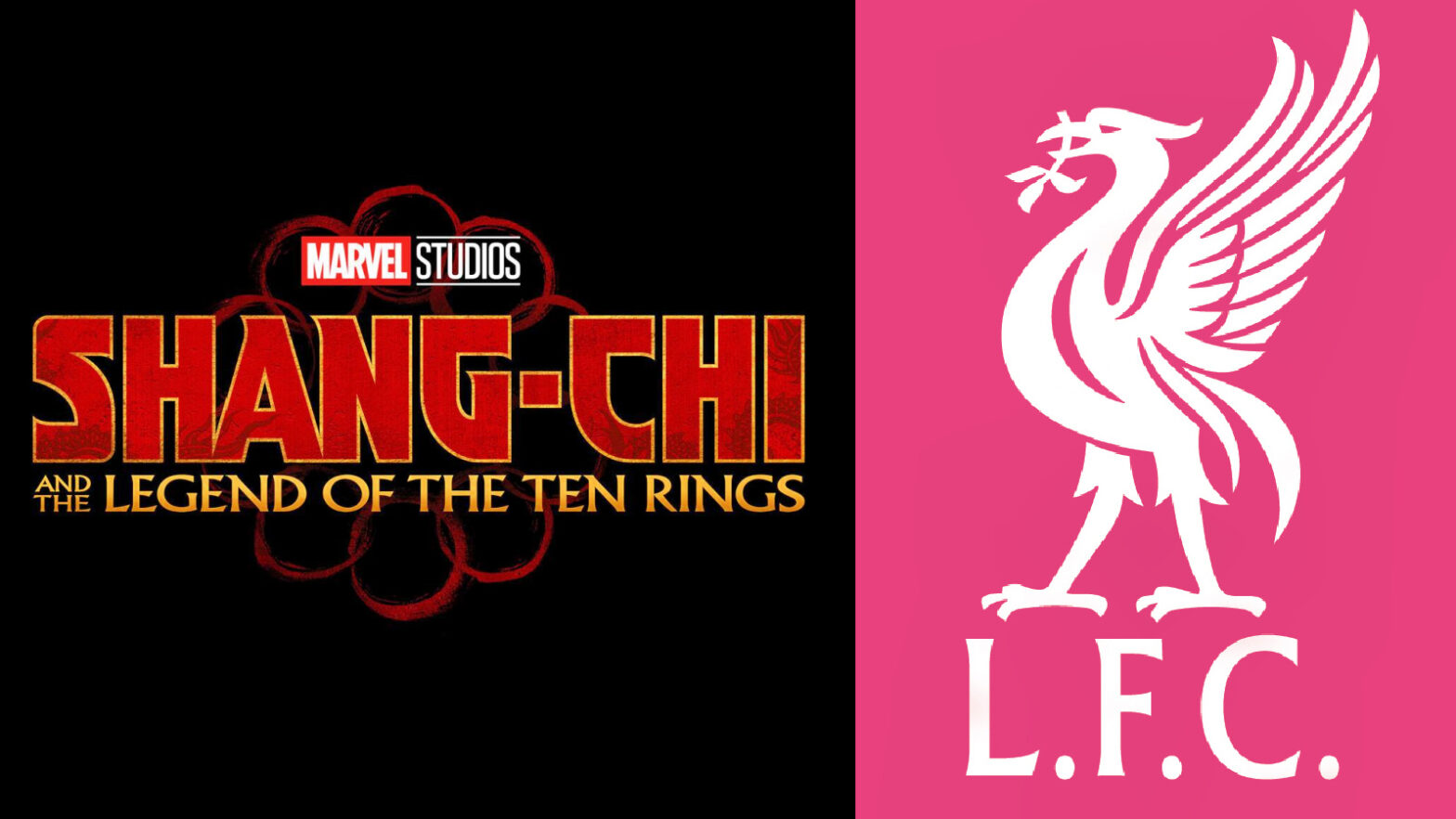 Marvel Shang Chi and Liverpool FC