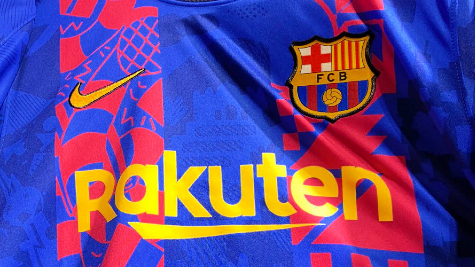 New Barcelona 21_22 Champions League edition kit from Nike
