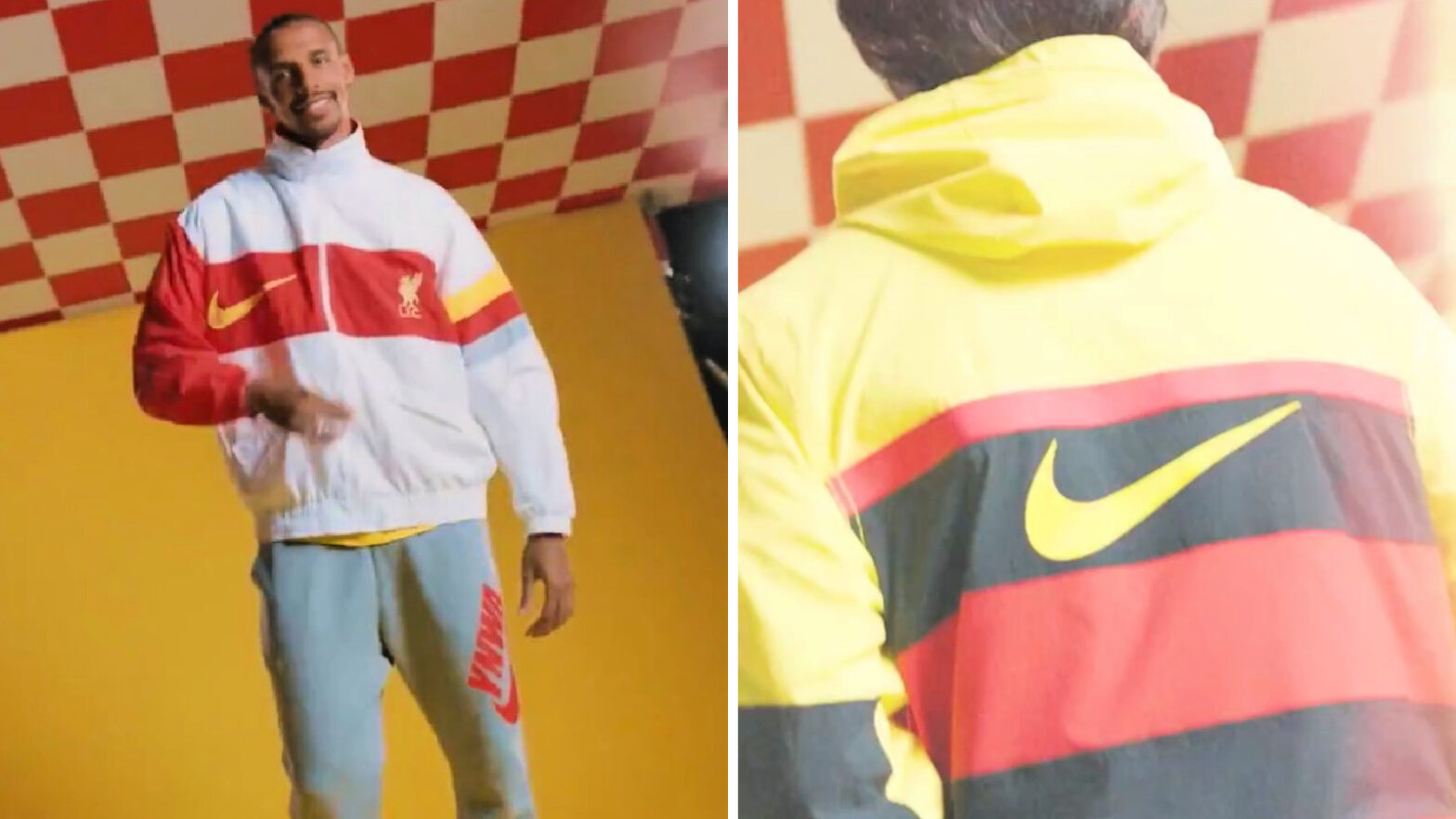 The New Italia Euro '96 Style Nike Jacket is a Huge Hit with Liverpool Fans