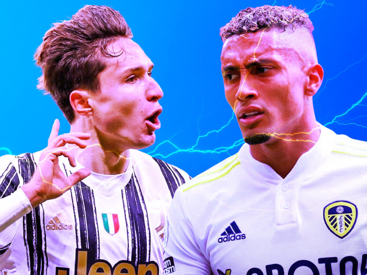 Federico Chiesa and Raphinha are one of the most fiery right-wingers in football currently