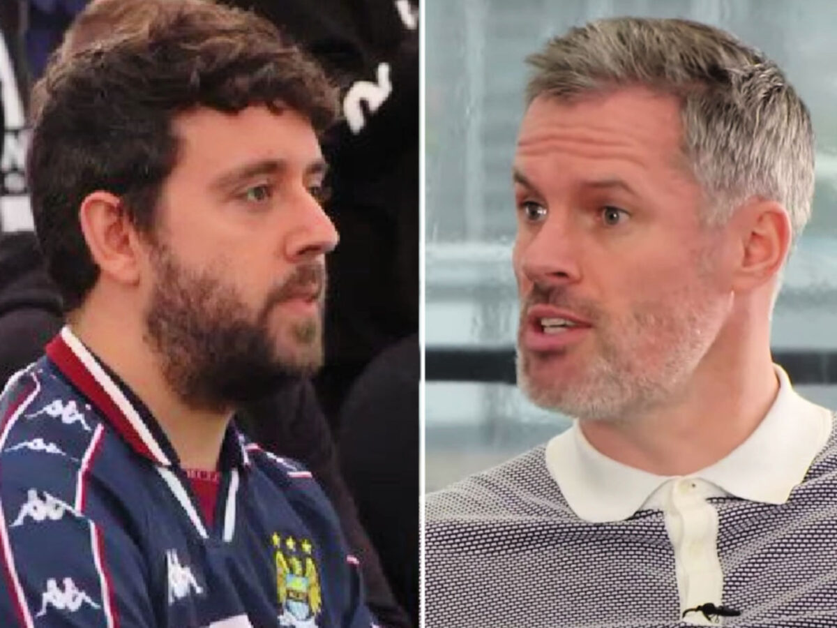 Steven Mcinerney was rudely humiliated by Jamie Carragher on The Overlap podcast